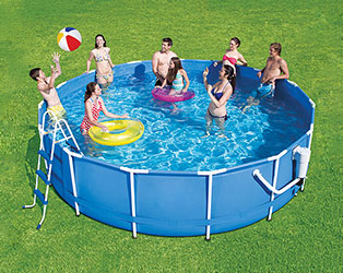 Metal Frame Round Pools