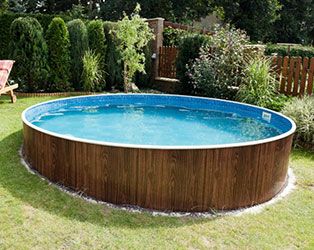 Octagonal Wooden Pool 5.3m by Doughboy