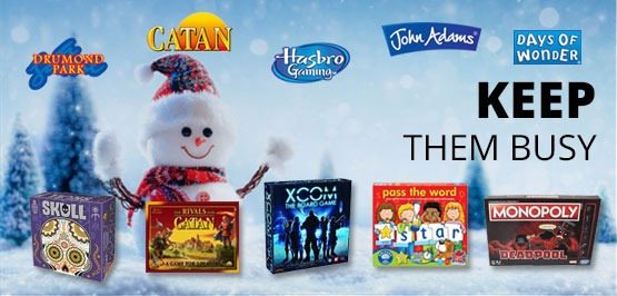 Keep the kids busy with some great games this Christmas