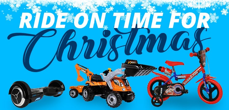 Ride on time for Christmas
