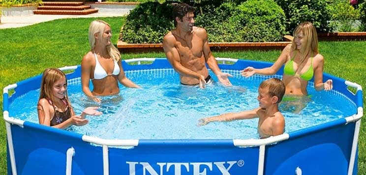 Intex Prism Metal Frame Round Pool