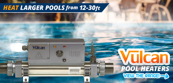 Vulcan pool heaters