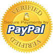 We accept PayPal payments!