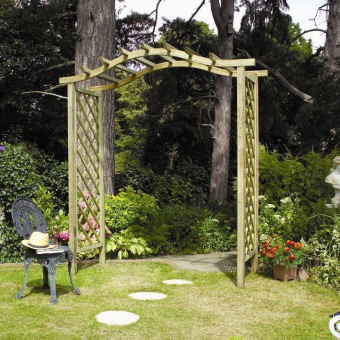 Garden Seats, Arches and Arbours