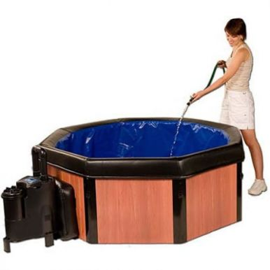 Easy-to-store Portable Spas from £1,299!