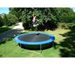 Round & Oval Trampolines