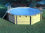 Octagonal Wooden Pool 4.38m