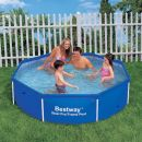 """Bestway Steel Pro Octagonal Metal Frame Pool No Pump 8ft x 24"""""""