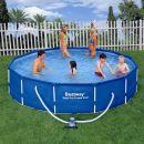 """Bestway Steel Pro Metal Frame Round Pool 12ft x 32"""""""