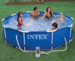 "Intex Metal Frame Pool 12ft x 30"""
