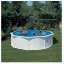 White Coral Steel Pool 5.5m x 1.2m