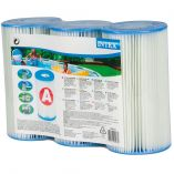 Intex 29003 Type A Cartridge Filter- Pack Of 3