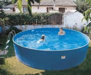 Blue Splasher Pool 15ft x 36""