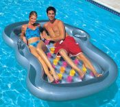 Bestway Double Designer Lounger Pool Inflatable