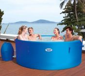 Lay Z Spa Monaco Rigid Portable Hot Tub