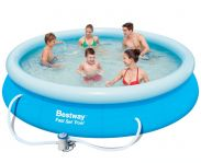 Bestway Fast Set Round Inflatable Pool 12ft x 30""