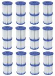 Bestway 58093 Type I Cartridge Filter- 12 Pairs