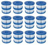Bestway 58239 Type VI Cartridge Filter- 12 Pairs