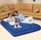 "Bestway Double Flocked Air Bed 75"" x 54"""
