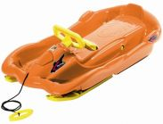 Snow Space Orange Sledge Toboggan