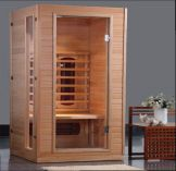 Chilliwack Infrared 1/2 Person Sauna- 1.0 x 0.9 x 1.9m