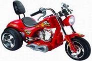6 Volt Battery Powered Ride On Chopper Trike GB5008A - Red