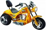 6 Volt Battery Powered Ride On Chopper Trike GB5008A - Yellow