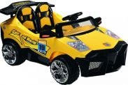 12 Volt Battery Powered Ride On Car Lambo GB5018A - Yellow