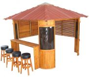 Canadian Spa Fraser Pine Gazebo 10'x 10'
