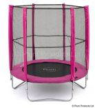 6ft Trampoline with Pink Enclosure
