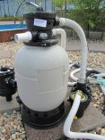 Skimmer Box & 5m3 Sand Filter Pump Kit