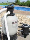 Skimmer Box & 7m3 Sand Filter Pump Kit