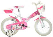 Dino Bicycles - Hello Kitty Bicycle 14""
