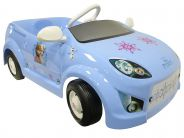Frozen 2015 Light Blue Pedal Car