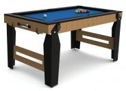 Riley 5ft Rolling Lay Flat Folding Pool Table