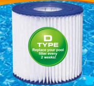 Type D Filters For Summer Escapes 580 Gall. Pump- Pack Of 2
