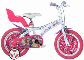 Dino Bicycles - Barbie Bicycle 12