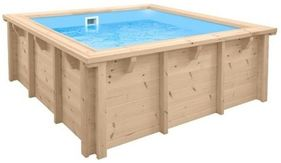 Doughboy Square Wooden Pool 2.1m