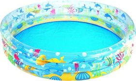 Bestway Deep Dive 3-Ring Paddling Pool - 60 x 12 Inches
