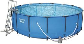 Bestway Steel Pro Metal Frame Round Pool Package 12ft x 48
