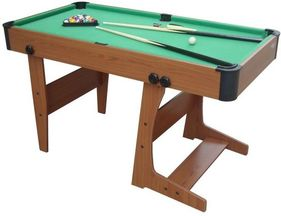 4ft 6 Eton L-Foot Pool Table  by Gamesson