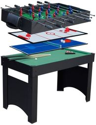 4ft Jupiter 4-in-1 Multi Games Table