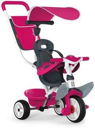 Snoby Push Along Tricycle Pink