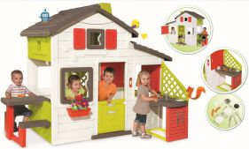 Smoby Friends House Playhouse And Kitchen