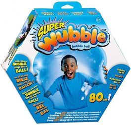 Super Wubble Bubble Ball Without Pump- Blue