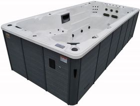 St.Lawrence Deluxe 16ft Swim Spa Garden Hot Tub by Canadian Spa