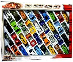 Steet Machines Die Cast Car Set- 36 Piece