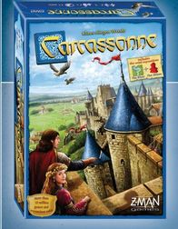 Carcassonne Board Game- New 2015 Edition