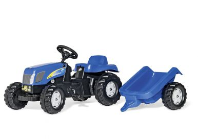 Rolly Kid New Holland T7040 Tractor & Trailer