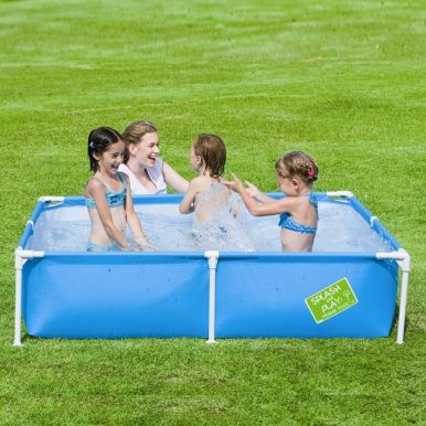 Bestway my first frame pool 64 x 64 x 14 56218 for Best pool buys canada